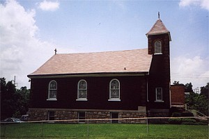 St. George Church at Lowell and Bethany in Kansas City, Kansas.